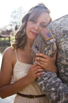 Saluting our troops 10 military themed weddings and engagements