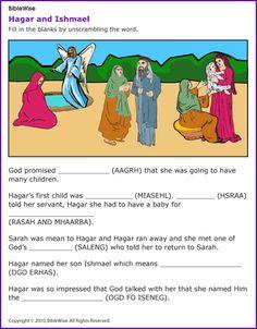 Hagar and Ishmael - Kids Korner