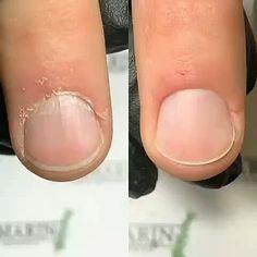 Wow great Nail prep Tutorial 😍🥰 - New Ideas Diy Acrylic Nails, Glitter Nail Art, Nail Art Diy, Diy Nails, Cute Nails, Pretty Nails, Hallographic Nails, Diy Maquillage, Manicure Y Pedicure