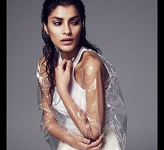 Sports Luxe | Vest: H&M | Jacket: Hanna Isaksson | Skirt: Tibi | Photography: Oskar Gyllenswärd