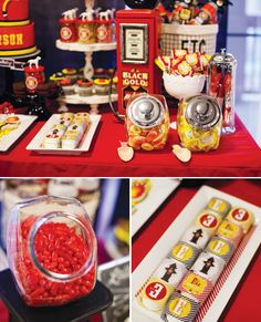Classic Fire House Birthday Bash // Hostess with the Mostess®