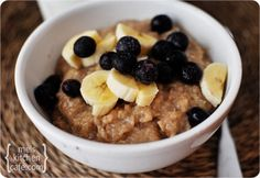 I am absolutely obsessed with steel cut oats in the crock pot...especially apple/cinnamon.  I make a big pot every Sunday and portion it out to take to work each day.  I'm going to try this one.