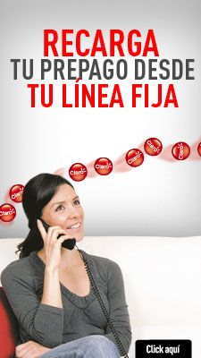 Adquiere nuevos servicios por medio de la telefonía fija. Obtenga la posibilidad de recargar tu móvil prepago desde tu línea.