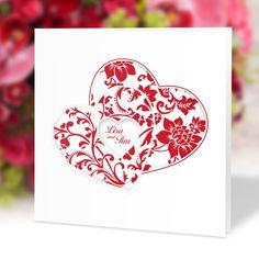 #Hochzeitseinladung Herzenssache rot: https://www.meine-hochzeitsdeko.de/hochzeitseinladung-herzenssache-rot