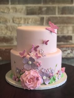 A baby shower cake that brings some sweet spring excitement!