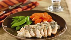 Pan-Seared Chicken Breasts with Creamy Mushroom Sauce Recipe on Yummly