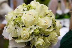 Brautstrauß Perlen