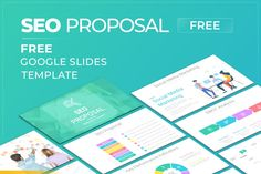 SEO Proposal Free Google Slides Themes Template Free Powerpoint Presentations, Powerpoint Themes, Powerpoint Template Free, Powerpoint Presentation Templates, Keynote Template, Swot Analysis, Best Seo, Proposal Templates, Digital Marketing