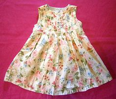 Adorable Size 18-24m Vintage Rose Flower Print Gymboree Sun Dress, Sleeveless. $1.99