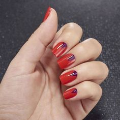 Red will always be our personal favorite. Tag a friend who would love this. #nailart #naildesign http://ift.tt/2eAVPdq