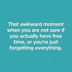 That awkward moment LOL
