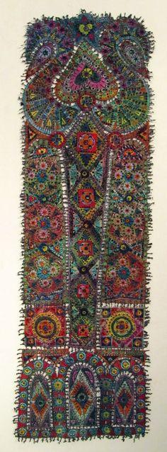Fiber Art Quilts | multi fiber art quilt by Susan Lenz | QUILTS (Antique & Contemporary)