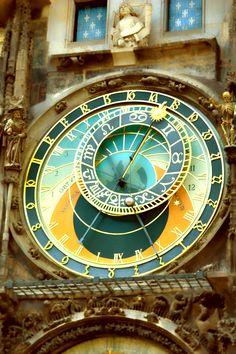 "tonyvatphotography: "" Amazing Tower Clock. Prague ©TonyVattappillil """