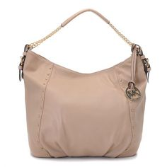 Michael Kors Shoulder Bag Medium Apricot Leather