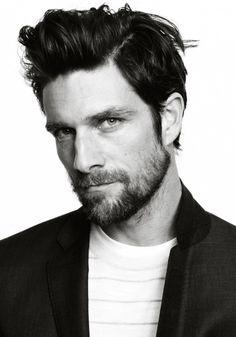 Cedric Bihr great hair and beard