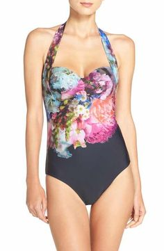 2dd4bd70b Ted Baker London  Focus Bouquet  One-Piece Swimsuit Bathing Suits