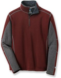 Hit the trail or head into town on a cold day with the soft and warm Kuhl Revel Quarter-Zip fleece top. #REIGifts