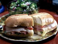 Learn how to make Panhandle Sandwiches. MyRecipes has tested recipes and videos to help you be a better cook. Hoagie Sandwiches, Wrap Sandwiches, Dinner Sandwiches, Delicious Sandwiches, Freezer Cooking, Fun Cooking, Freezable Meals, Easy Meals, Freezer Friendly Meals