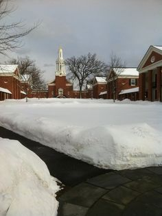Yale Divinity School. Beautiful in the snow!