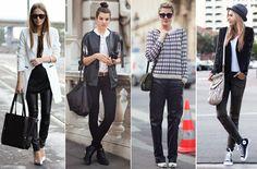 Tendencia: Moda en blanco y negro.