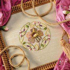 Country Bumpkin & Inspirations - beautiful embroidery & smocking: All Inspirations kits - Pure Gold - Inspirations issue 76 embroidery kit