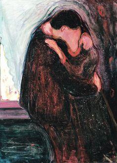The Kiss, Edvard Munch, 1897