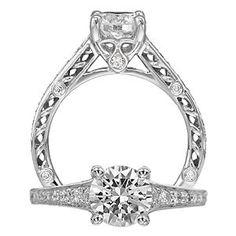 Gorgeous Anadare Diamond Engagement Ring @ Kranich's Jewelers. Web ID: 5854