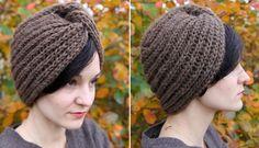 Knitted turban (pattern in norwegian)
