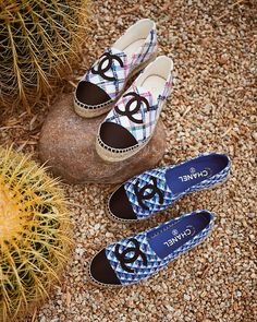 f1ff6d17254d TWO FOR THE ROAD 🌵 Shop  chanelofficial s latest espadrilles now in store  on 2.