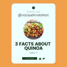 #nutritionfacts about #quinoa you probably didn't know about. This #healthyrecipe is so #tasty and good for your skin #antiacnediet #clearskindiet #recipes #Regram via @CQ6RTqRJ2zn Clear Skin Fast, Clear Skin Tips, Acne Clearing Foods, Clear Skin Routine, Glowing Skin Diet, Dog Food Recipes, Healthy Recipes, Anti Inflammatory Recipes, How To Treat Acne