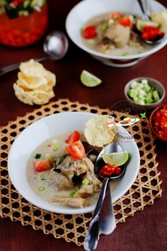 Goat Feet Soup-Jakarta Style.  Sop Kaki Kambing Jakarta always can be substituted for lamb or beef.  This dish is the marriage between Indonesian local ingredients and middle east heritage.