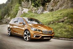 الكشف رسميا عن السياره الاختباريه BMW Active tourer #autos  #cars  #BMW
