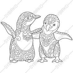 Pinguin Malvorlagen - Malvorlagen1001 zeichnen