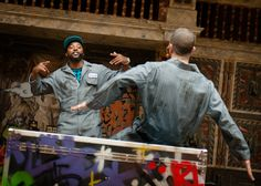 Othello Q Brothers/Chicago Shakespeare Theater/Richard Jordan Productions Performed in Hip Hop (C) Simon Kane