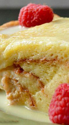 Classic Bread Pudding I would add cinnamon.