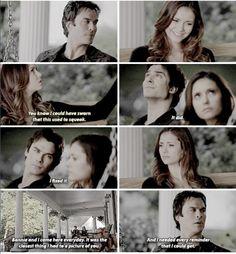 "#TVD 6x09 ""Alone"" - Damon & Elena"