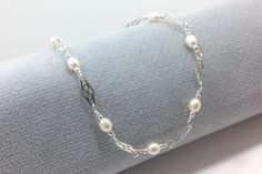 A personal favorite from my Etsy shop https://www.etsy.com/listing/223538928/silver-anklet-sterling-silver-ankle