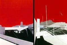 Bernard Tschumi Architects - Interface Flon Railway and Metro Station , Lausanne, 1994-2001