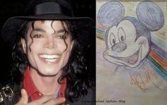 Espaço Michael Jackson: Michael Jackson - Desenhos & fotos