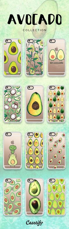 Phone Cases - Click through to shop these #avocado iPhone 6/6S #Protective Case designs >>> www.casetify.com/... #phonecase | Casetify
