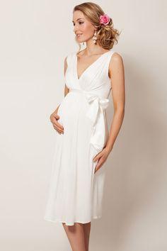 Robe Tiffany Rose pur mariée enceinte. Parfaite aussi pour une robe estivale, ou dans  une autre teinte pour une soirée