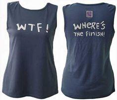 Funny running tee.