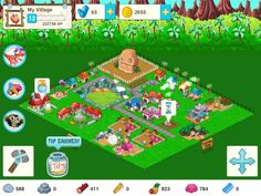 tiny village game