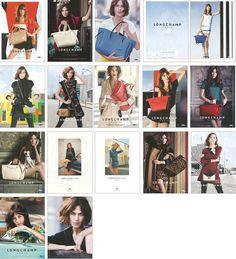 ALEXA CHUNG Lot, 16 Clippings & Print Ads Longchamp AG fashion supermodel pin up #Various