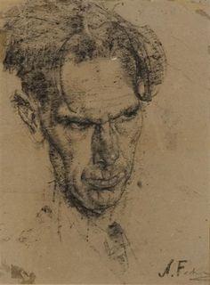 Nicolai Fechin, Head of a Poet - The Artist's Best Friend