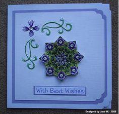 Teabag folding | talented stitcher! Jane W. is adding some gorgeous tea bag folding ...