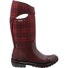 Bogs Womens Plimsoll Plaid Tall Waterproof Insulated Boot Ox Blood ** Check this awesome product by going to the link at the image.(This is an Amazon affiliate link)