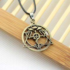 Fullmetal Alchemist Round Snake Necklace - OtakuForest.com