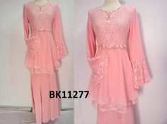 peplum lace kurung - Google Search