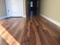 Quickstep Laminate Floor Installed by Koeber's Employees
